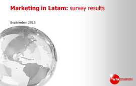 Marketing in LATAM survey results