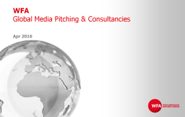 Survey into global media pitching and use of consultants
