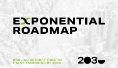 The Exponential Roadmap initiative
